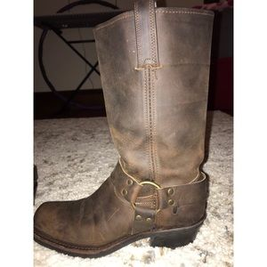 Frye Pull on Brown Boots